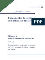 Modulo 5_Aula 2 – Realização e Registro Dos Atos Da Fase de Prestação de Contas No Siconv