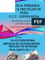 54096747 Diapositivas de Lectoescritura Conceptos y Metodos