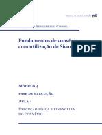 Modulo 4_Aula 1 – Execução Física e Financeira Do Convênio