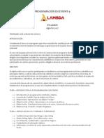 Syllabus Programación en Eviews 2