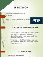 Toma de Decision
