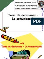 Toma de Decisiones- Comunicación