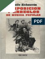 Composicion y Arreglos de Musica Popular Rodolfo Alchourron
