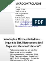 Aula 1 - Introducao Aos Microcontroladores