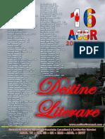 Destine Literare (Literary Destinies) Aug.25-2017