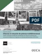2017 Observatorio Infancias en Situacion de Pobreza Multidimensional
