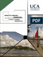 Impacto urbano del turismo residencial en la ciudad de San Juan del Sur,