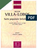 Hector Villalobos - Suite Popular Brasileña Editado y Corregido Por Frederic Zigante Edicion Eschig