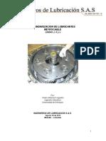 Estandarizacion de Lubricantes - 2012 (Informe Final) (1)