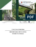 1600-Minorități Din Oltenia. Studii Culturale