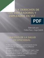 Deberes y Derechos de Los Empleadores y Empleados