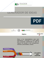 Manual Del Generador de Ideas- Capacitación