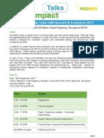 Impact Talks Brochure