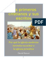 Bercot David W - Los Primeros Cristianos Y Sus Escritos