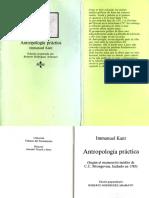 Antropologia Practica _ Immanuel Kant