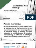 Cómo Elaborar El Plan de Marketing