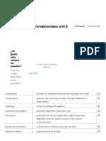 Fichas de Aprendizaje Edx Cybersecurity Fundamentals Unit 3 _ Quizlet