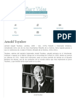 Biografia de Arnold Toynbee