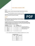 Guía de Trabajo Evaluada MRU