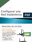 Red Inalambrica Configurar