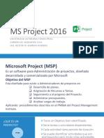 Curso Ms Project 2016