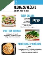 5 Predloga Za Večeru