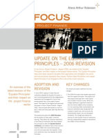 AARFocusProjectFinance August 2006