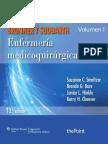 Enfermería Medico Quirurgica Brunner y Suddarth 12 Ed. 2015 (Vol 1)