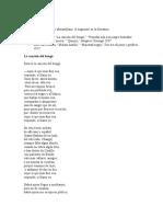 Preguntas de comprensión sobre la poesía afroantillana y algunos poemas