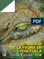 Situación Actual de La Fauna Silvestre en Venezuela
