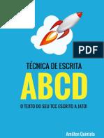 Método Escrita Abcd o Texto Do Seu Tcc a Jato