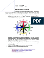 Modul Pemrograman Android - Mengenal Penggunaan Sensor Kompas