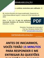 IMPERMEABILIZAÇÃO BALDRAME