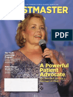 March 2016 Toastmaster Magazine