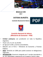2017 Filmina Bolsas Comisión Nacional de Valores