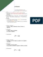 Ejemplos de Condicional Material