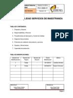 PCC-DBM-01 Procedimiento Interno Control de Calidad
