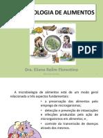 Microbiologia de Alimentos Aulas