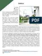Pueblo de Dios Que Peregrina en Ciudad Luz-texto Sobre Un Barrio de Ibagué_julio 2016