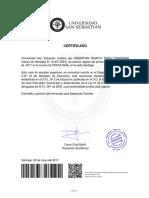 Certifica Do 719023