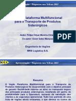 Vagões Plataforma - MRS
