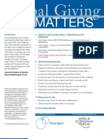 Global Giving Matters Apr-May 2004 Issue 17