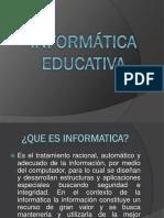 Informatica Educativa (Definicion)