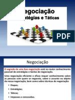 Negociação-estratégias e Táticas