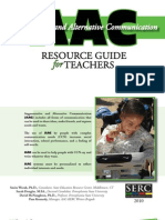 AAC Resource Guide for Teachers