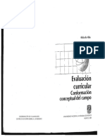 De Alba Alicia. 1991 Evaluacion Curricular. Conformación Conceptual Del Campo