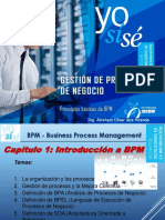 BPM1 - Gestión de Procesos de Negocio