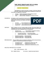 Indices Financieros 2015