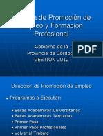 AgenciadePromociondelEmpleoyFormacionProfesionalinstructivo.pps