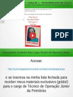 QUESTÃO 23 PROVA 5 PETROBRÁS 2014 COMENTADA | Química Para Concurso Técnico de Operação da Petrobrás